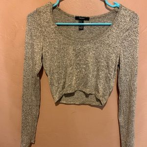 Tops - Crop top long sleeve forever 21 H&M hollister